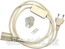 Сетевой шнур, штекер для Flex Neon,гибкий неон, холодный неон