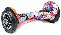 Гироскутер Smart Balance Wheel 10' Фиолетовый Графити