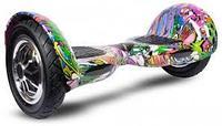 Гироскутер Smart Balance Wheel 10' Летный Графити