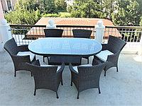 Комплект мебели из искусственного ротанга производство Алматы