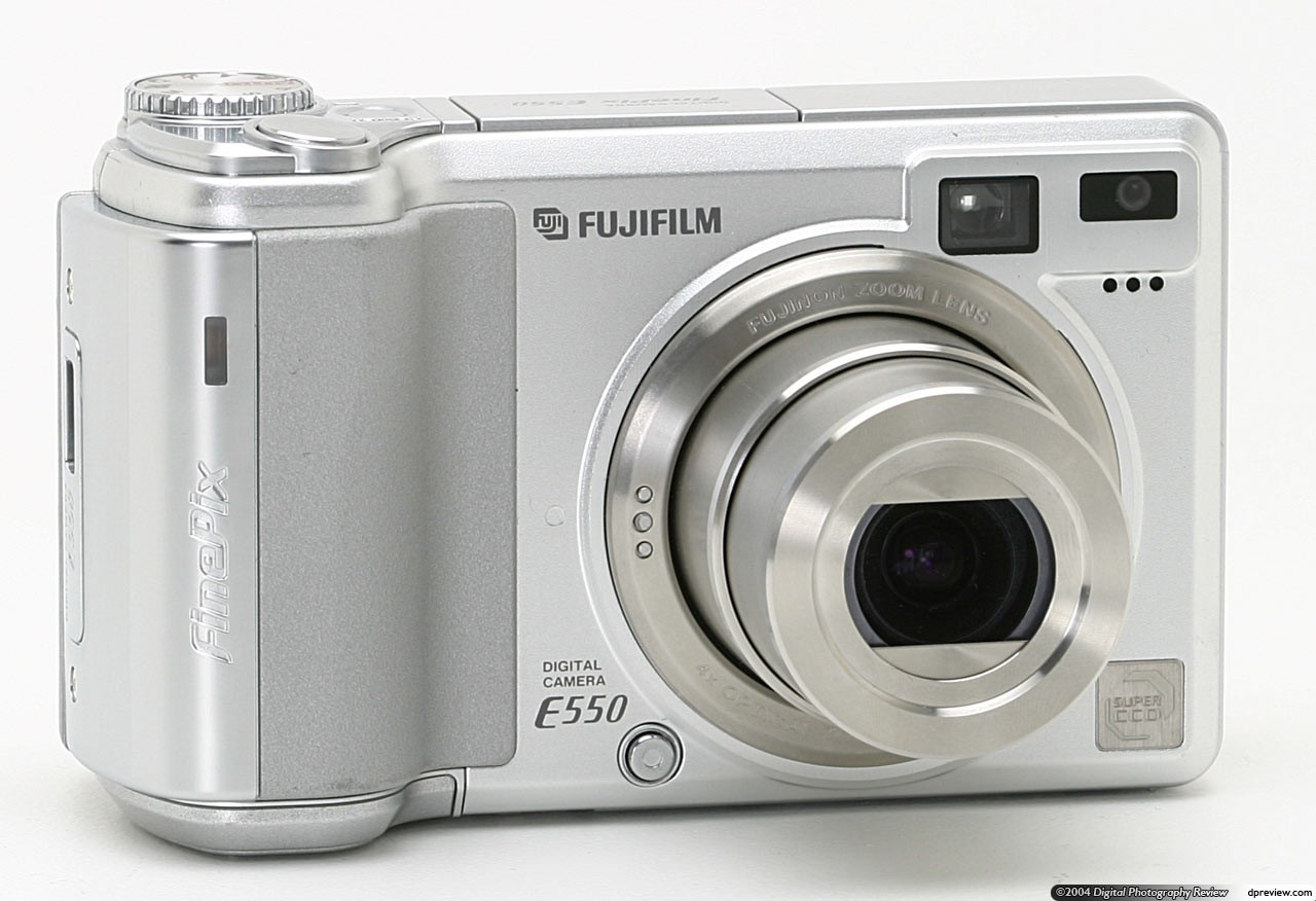 Инструкция для цифрового фотоаппарата FujiFilm FinePix E550
