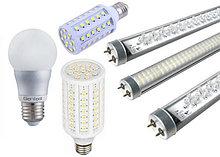 Лампы, споты, лампочки Эдисона, светодиодные лампочки.
