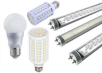Лампы светодиодные, споты, лампочки Эдисона, светодиодные лампочки.