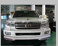 Передний бампер с LED освещением на LC100 2003-07