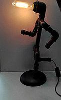Настольная лампа лофт, фото 1