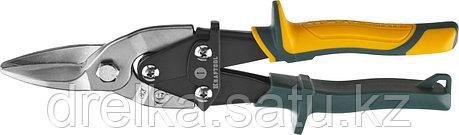 Ножницы по металлу KRAFTOOL Alligator, прямые, Cr-Mo, 260 мм, фото 2