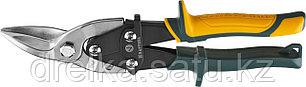 Ножницы по металлу KRAFTOOL Alligator, левые, Cr-Mo, 260 мм, фото 2