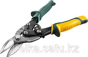 Ножницы по металлу KRAFTOOL Alligator, правые, Cr-Mo, 260 мм, фото 2