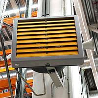Тепловентиляторы с водяным источником тепла КЭВ-126М5W3
