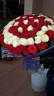 Шикарный букет из 101 розы!