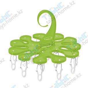 Крючок с прищепками Gimi Soffio (зеленый цвет), фото 2
