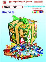 """Новогодний подарок """"Куб"""" 750гр"""