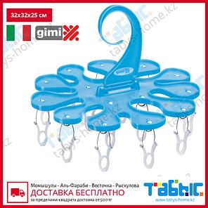 Крючок с прищепками Gimi Soffio (голубой цвет), фото 2