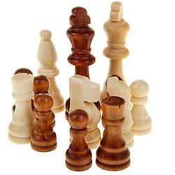 Шахматные фигуры деревянные большой