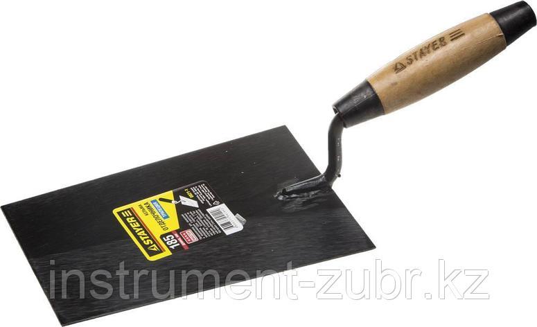 Кельма отделочника STAYER с деревянной усиленной ручкой КО                                                              , фото 2