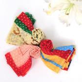 Шёлковый платок с биофотонам Разные цвета