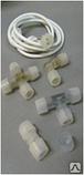 Коннектор соединитель для Flex Neon, гибкий неон, холодный неон, флекс неон, неоновый шнур, фото 6
