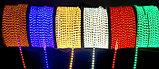 Лента SMD 5050, 220v в пвх оболочке. Цвет: белый (4500К, 3000К) синий, желтый, зеленый, красный , фото 5