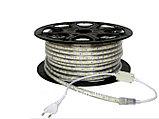 Ленты светодиодные 220 в. В ПВХ оболочке  LED лента SMD 5050. 9 цветов, фото 7