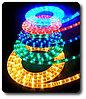 Светодиодный дюралайт, светодиодный дюралайт, круглый 2-х жильный  зеленый, белый, фото 6