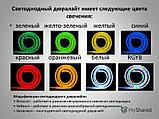 Дюралайт светодиодный круглый. 2 жылы. 32 диода на метр, 13 мм. Все цвета., фото 2