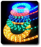 Дюралайт светодиодный круглый. 2 жылы. 32 диода на метр, 13 мм. Все цвета., фото 5