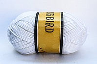 Пряжа акриловая, KING BIRD, 100 гр., белая