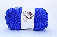 Пряжа акриловая, детская, 45 гр., синяя, фото 1