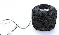 """Нитки для вязания """"Ирис"""", черные"""