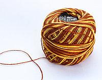 """Нитки для вязания """"Ирис"""", желто-коричневые"""