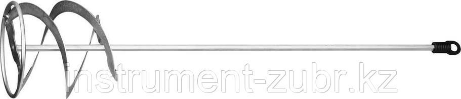 """Миксер STAYER """"MASTER"""" для красок металлический, шестигранный хвостовик, оцинкованный, 120х600мм, фото 2"""