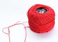 """Нитки для вязания """"Ирис"""", красные"""
