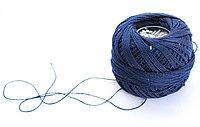 """Нитки для вязания """"Ирис"""", синие"""
