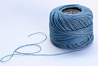 """Нитки для вязания """"Ирис"""", голубые"""