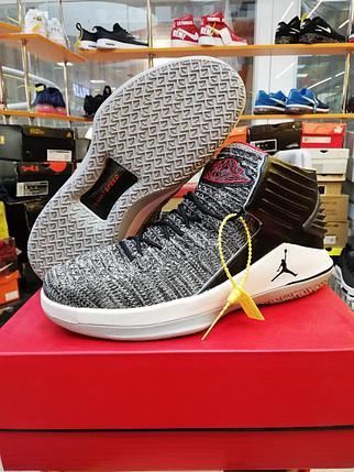 Баскетбольные кроссовки Air Jordan XXXII (32) Gray, фото 2