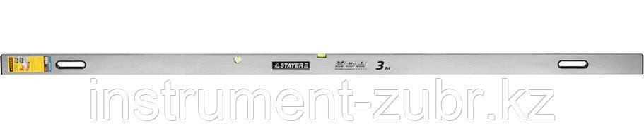 Правило-уровень с ручками GRAND, 3.0 м, STAYER, фото 2