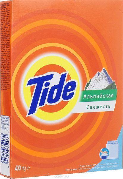 """Стиральный порошок """"TIDE"""" 400г Альпийская свежесть"""