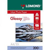 200g A4 25л Lomond глянцевая L0102046