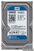 """Жесткий диск WD Blue™ WD5000AZRZ 500ГБ 3,5"""" 5400RPM 64MB (SATA III), фото 1"""