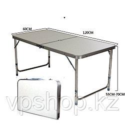 Мобильный раскладной стол 120х60 доставка