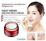 MIZON Night Repair Melting Rich Cream. Ночной восстанавливающий крем, фото 2