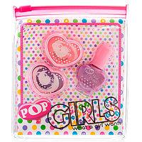 Pop-Girl Набор детской декоративной косметики для губ и ногтей, фото 1