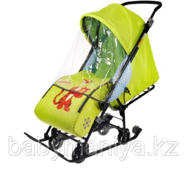 Cанки - коляска Ника Disney baby 1, цвет Тигруля лимонный