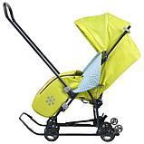 Cанки - коляска Ника Disney baby 1, цвет Тигруля лимонный, фото 2