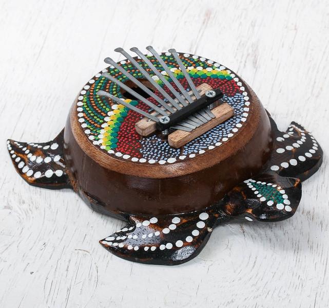 """Музыкальный инструмент """"Калимба черепаха"""", 22*17*5"""