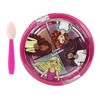 Barbie Игровой набор детской декоративной косметики для глаз, фото 1