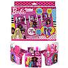 Barbie Игровой набор детской декоративной косметики с поясом визажиста