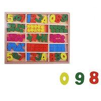 Счётный материал: цифры и фигуры, 94 элемента