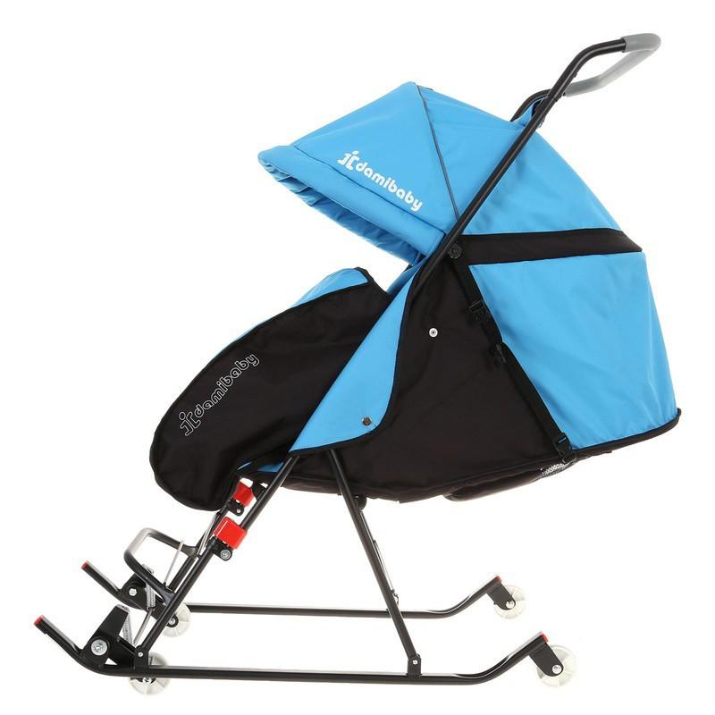 Санки - коляска детские прогулочные Деми