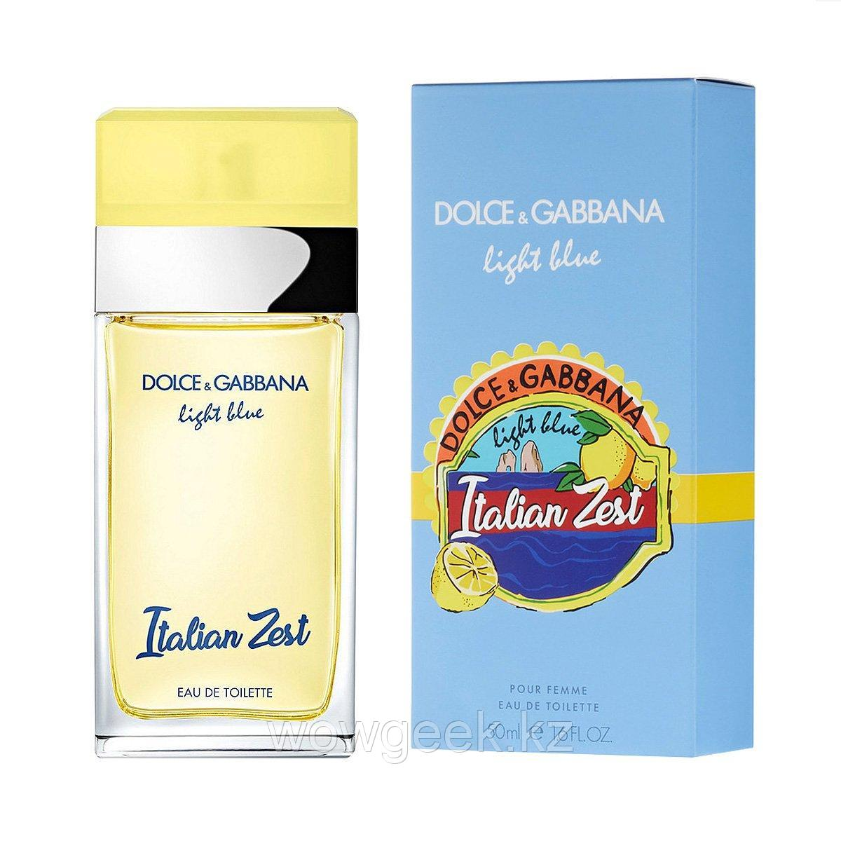 Женский парфюм Dolce & Gabbana Light Blue Italian Zest
